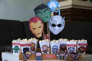 Marvel Movie Night with Cricut
