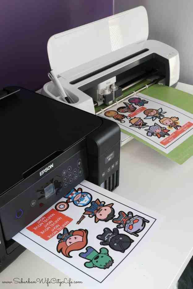 Print and Cut Marvel Kawaii