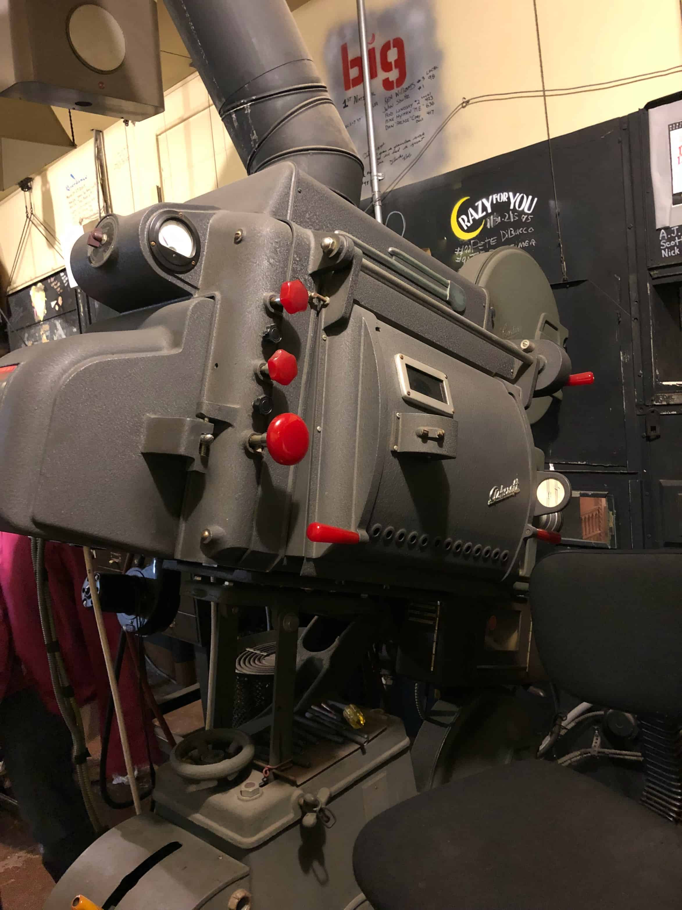 Hershey Theatre Projector
