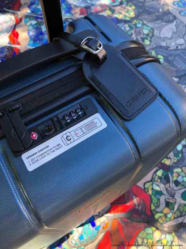 Chester Suitcase Lock