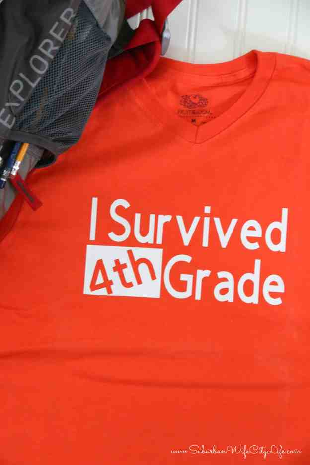Last Day of 4th Grade Shirt