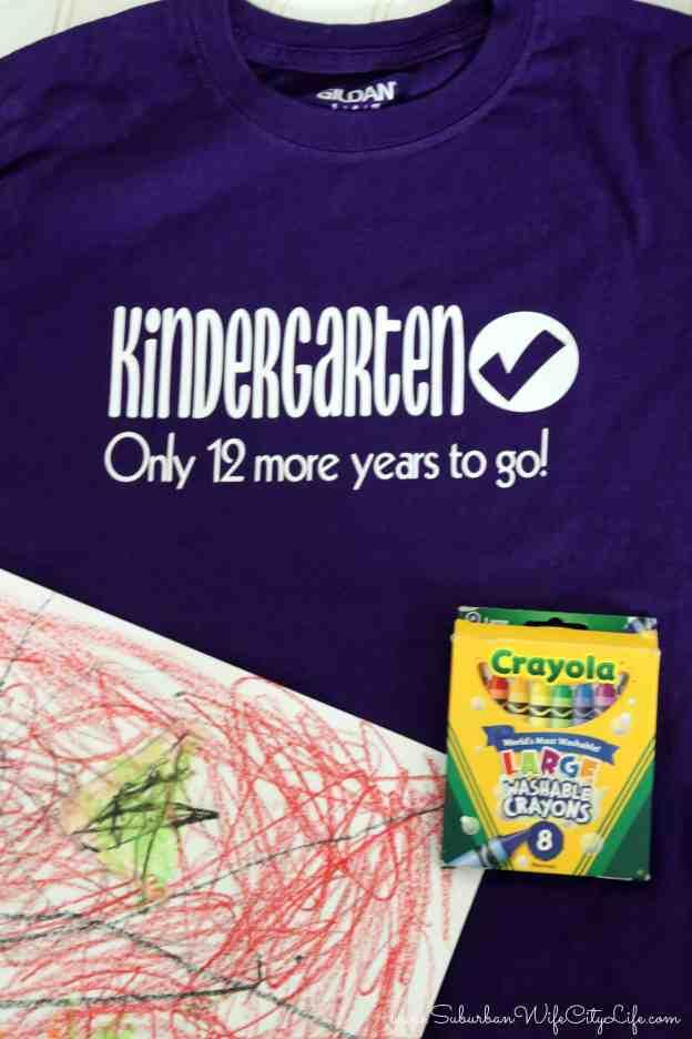 Last Day of Kindergarten Shirt