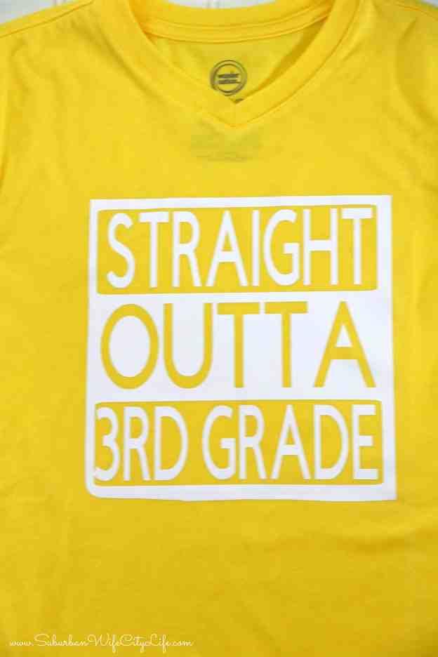 Last day of 3rd Grade Shirt