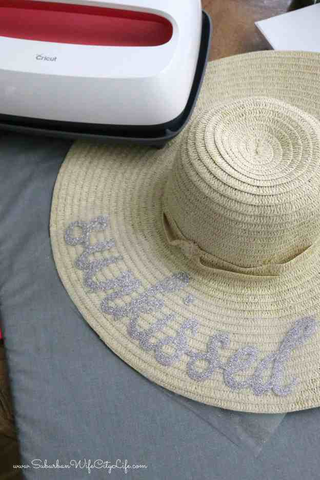 Sunkissed Floppy Hat with Cricut