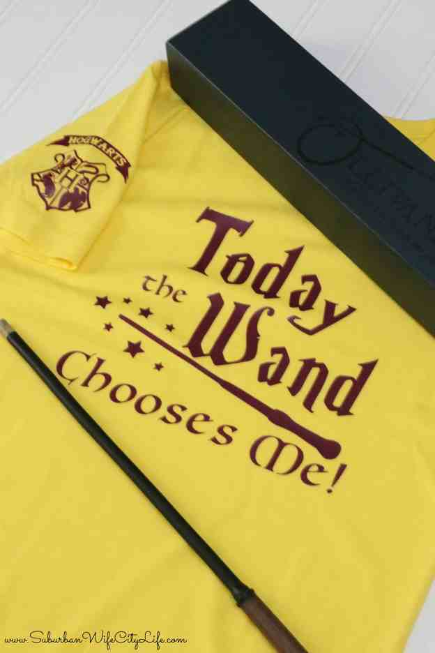 Today the wand chooses me shirt