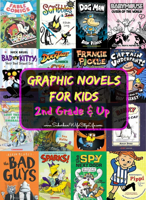 Graphic Novels for 2nd Grade