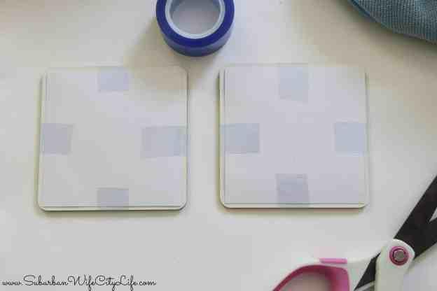 Cricut Coasters and Heat safe tape