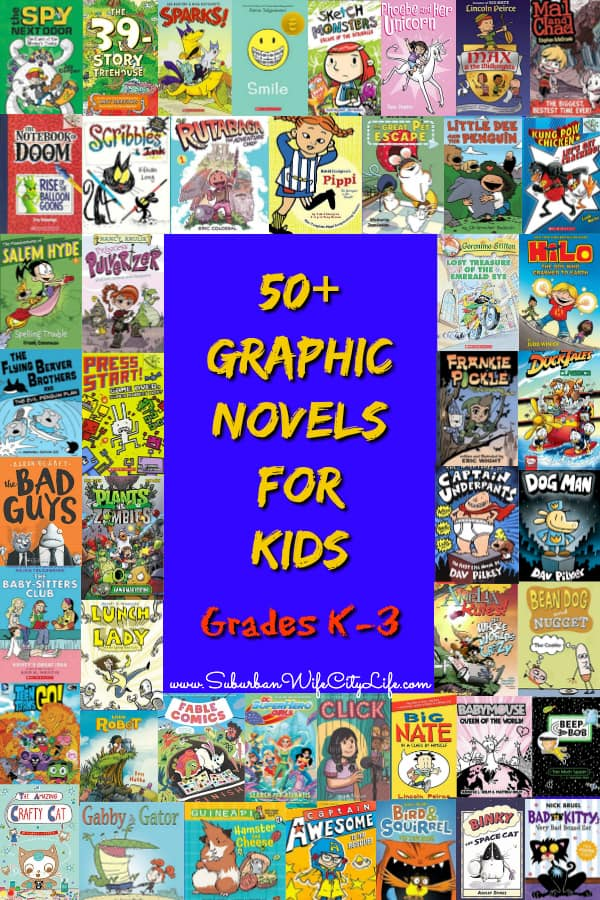 Graphic Novels for Grades K-3