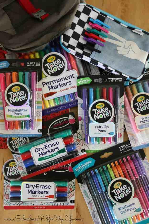 Crayola Take Note!