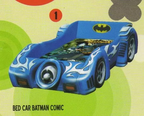 Bigland Bed Car Batman dan Robin (without music)