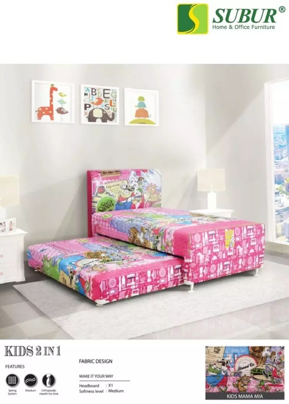 Springbed Central Kids 2in1