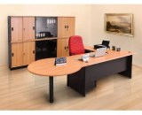 Meja Kantor Uno Classic Series Warna Beech 1