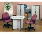 Meja Kantor Uno Classic Series Warna Grey 1