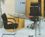 Aditech Meja Kantor Kaca type XE 05