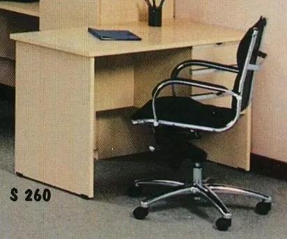 Aditech Meja Kantor Berikut Laci type S 260