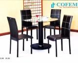 Cofemo Meja 4 Kursi makan type MC 05 JC 03