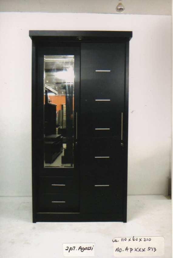 Deco Maju Lemari 2 pintu sliding type AGASI APxxx