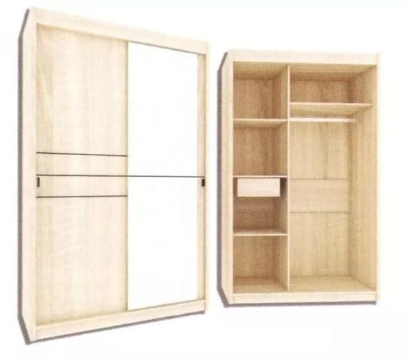 Garvani Wardrobe ELTON SLD 120