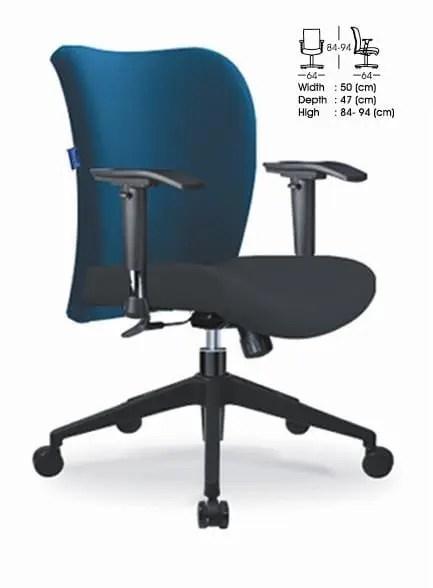 Indachi Kursi Staff/Sekretaris type VECTO III N TC
