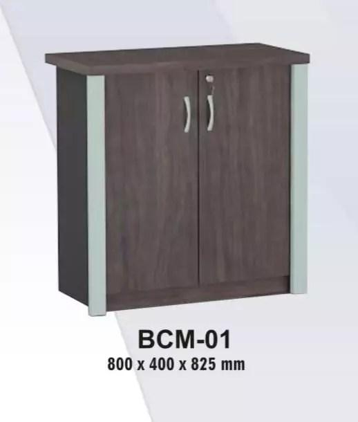 VIP Credenza / Lemari Arsip Pendek Pintu Panel type BCM 01