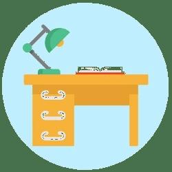 Meja Komputer / Belajar
