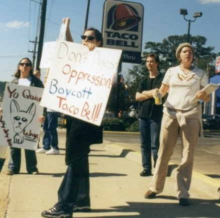 effective protest: Taco Bell