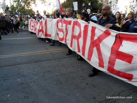 general strike effective protest tactic. Occupy Oakland