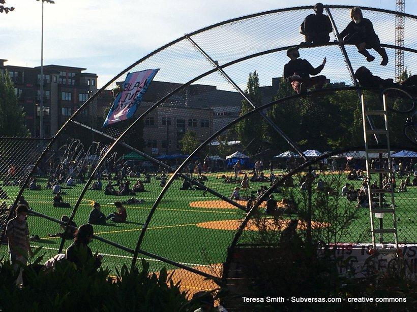 grassy knoll, Capitol Hill autonomous zone