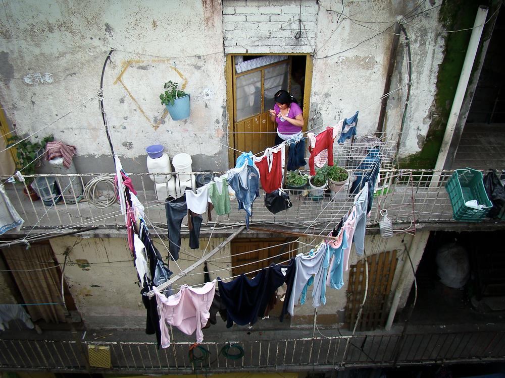 La huella de Superbarrio. Fotografía: Jerónimo Díaz