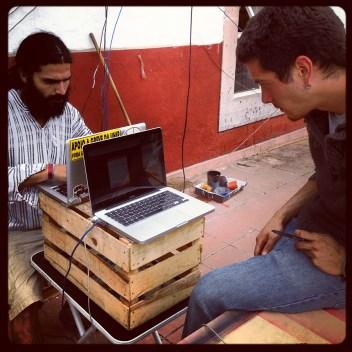 Preparando-la-transmisión-en-vivo
