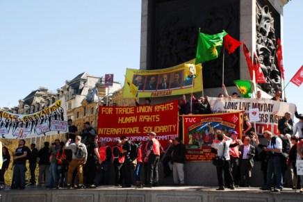 Londres, Primero de Mayo 2013: más allá de los legados de Maggie Thatcher y Hugo Chávez