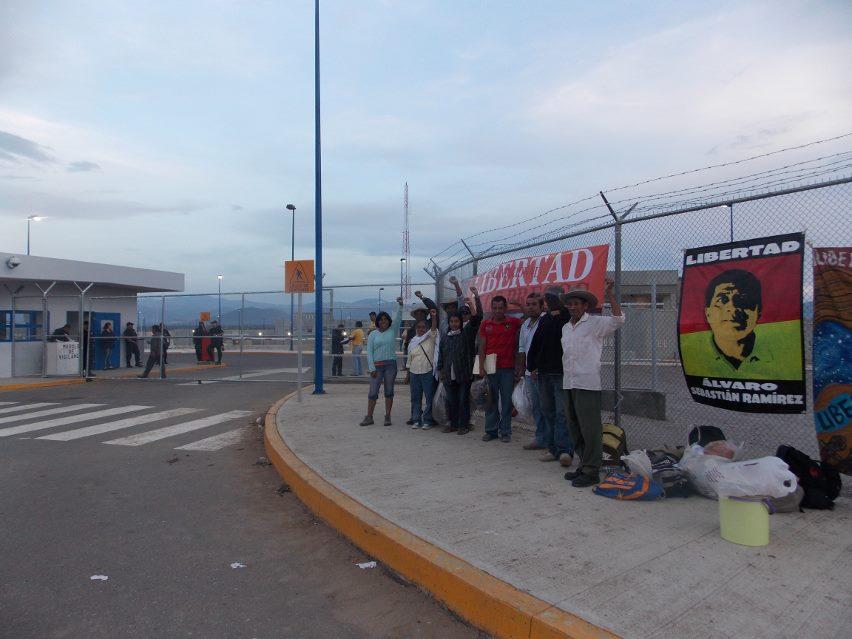 Fotografía: Familiares de los presos loxicha