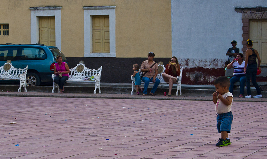 Lxs niñxs también resistimos / Foto por Alan Carmona