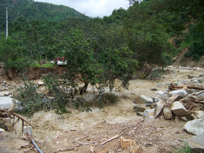 Devastación en la Montaña de Guerrero / Foto: Armando Campos