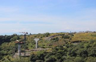 Panorámica de la construcción del Puente Apatlaco