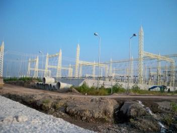 El avance de la modernización. La construcción de la termoeléctrica está prácticamente acabada, solo hace falta conectar la planta con el gaseoducto y el acueducto para que comience a operar.