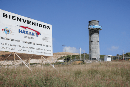 David contra el apestoso Goliat: historia de resistencia de los pueblos de la Barranca del Río Santiago