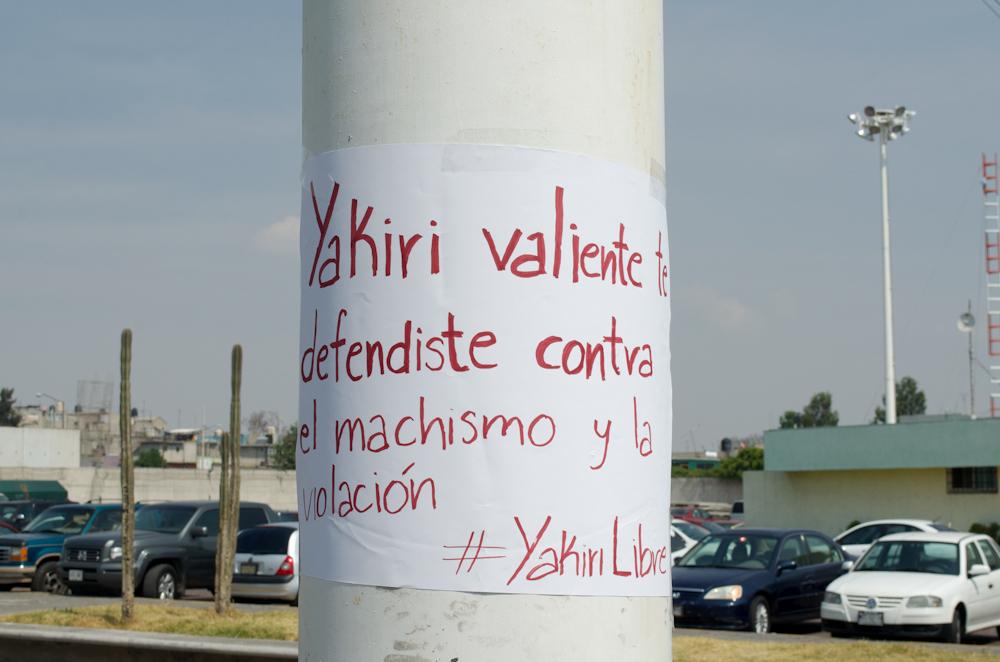 El caso de Yakiri a despertado manifestaciones de solidaridad