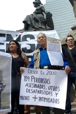 Protestas en la Ciudad de México