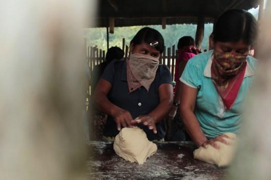 La panadería es parte de los proyectos colectivos.