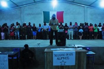 """El curso: """"La libertad según las y los zapatistas""""."""