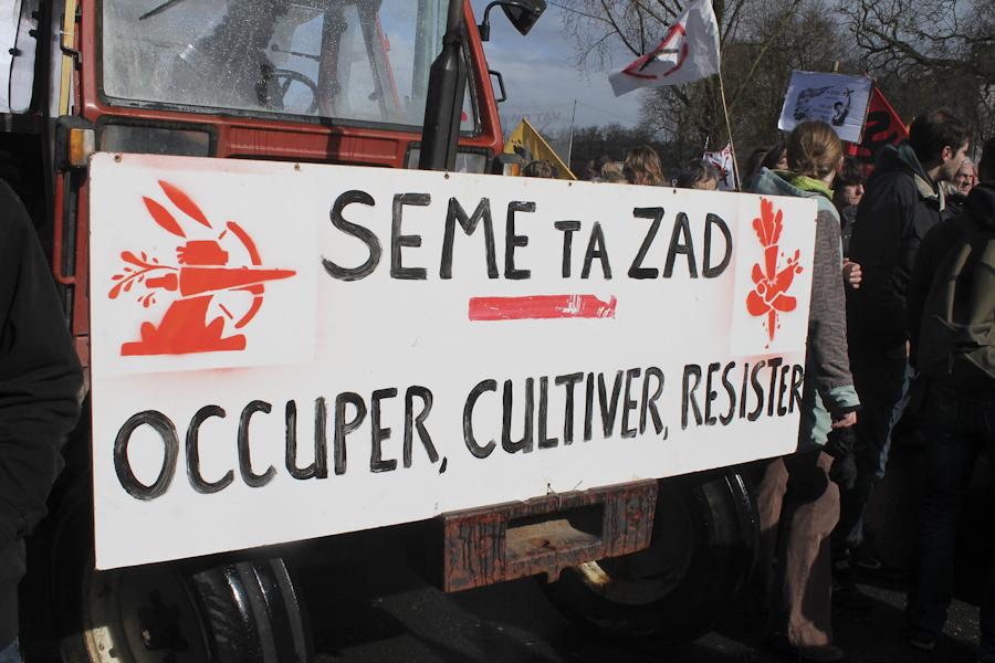 """Siembra tu ZAD: ocupa, cultiva y resiste"""