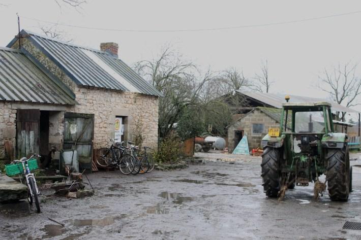 Una granja recuperada