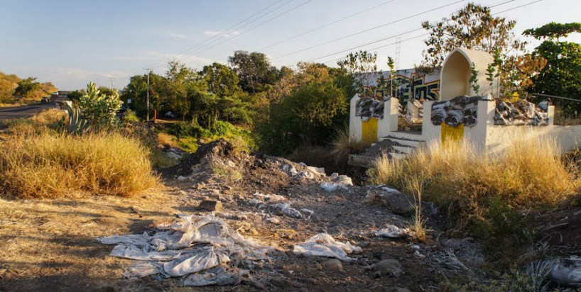 Entrada a Buenavista Tomatlán. Fotografía: Cristian Leyva