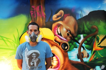 Addi Fernández Miralrio, Facte: El grafiti es lo mejor que tengo para ofrecer.