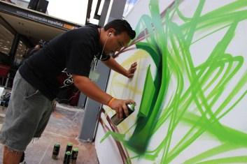 Vicente Villagrán Salinas, Wind: Desayuno grafiti, como grafiti y ceno grafiti.
