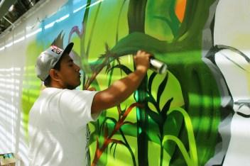 Néstor Josué Guadarrama Pineda, Yeer: Lo mío es pintar y nada más.