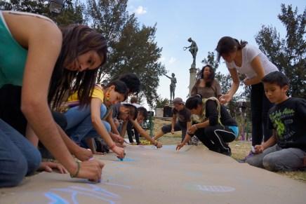 Realizan jornada cultural contra Autopista Urbana Oriente
