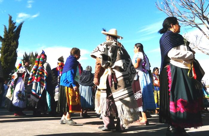 Ceremonia del amanecer en el año nuevo p'urhépecha