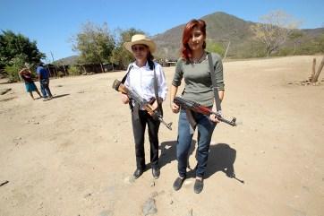 Mujeres nahuas en la costa michoacana